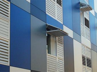 Panel compacto de resinas fen licas benegas - Armarios de resina para exterior ...