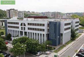 Fachadas Ventiladas Panel Fenólico: Facultad de Químicas, UPV, Donostia