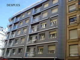 Fachadas Ventiladas Panel Fenólico: Rehabilitacion C/Gran Via , Donostia