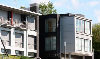 Fachadas ventiladas Composite de Aluminio: Residencia Oblatas, Donostia