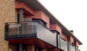 Fachadas Ventiladas Panel Fenólico: Viviendas en Lugaritz, Donostia